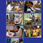 "Image shows screen shot of the cover of the publication entitled ""Assistive technology for children with disabilities: Creating Opportunities for Education, Inclusion and Participation: A Discussion Paper"""