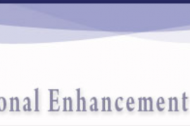 "Website banner shows the logo for Deaf Education at the left with the slogan ""Educational Enhancement for the field of Deaf Education"""