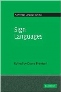 "Cover of the book ""Cambridge Language Surveys: Sign Languages"""
