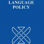 "Cover of an issue of the journal entitled ""Language Policy"""