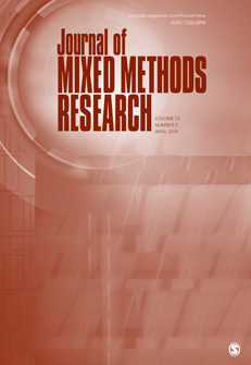 Cover of an issue of the Journal of Mixed Methods Research