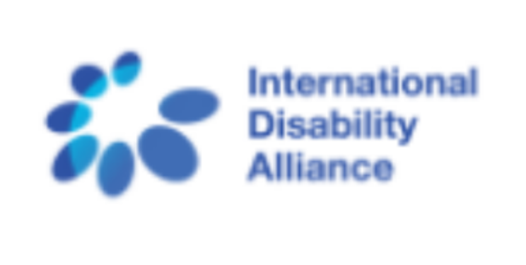 Logo for the International Disability Alliance.