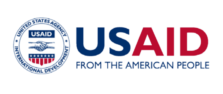 """Logo for the United States Agency for International Development (USAID). Below the acronym is the motto """"From the American People"""""""