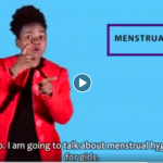 Menstrual health for deaf girls in Zimbabwe